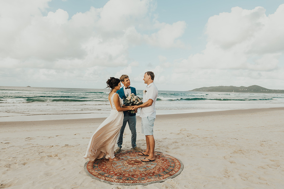 Byron Beach Elopement - Dan & Belinda - Belongil Beach Wedding