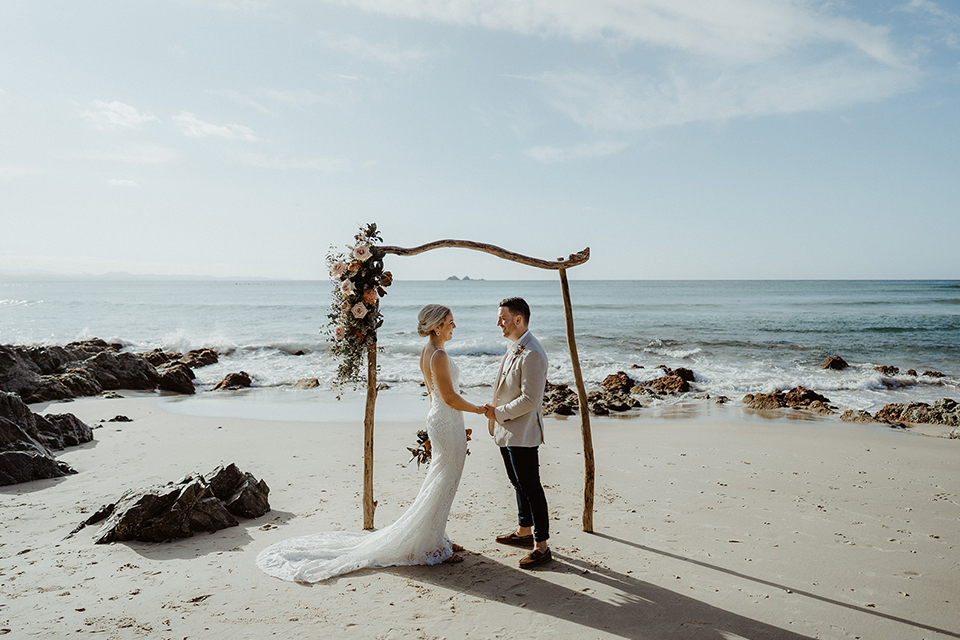 Wategos Beach Elopement - Erica Luke - Byron Bay - Hitched In Paradise