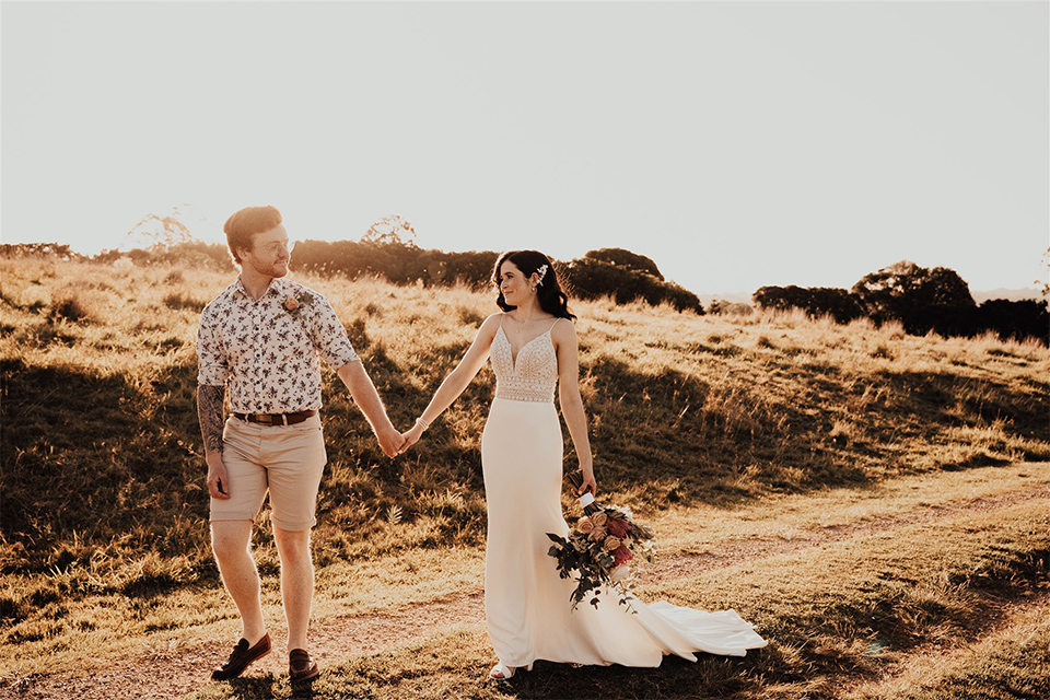 Justin & Isobel - The Earth House - Byron Bay Hinterland Elopement